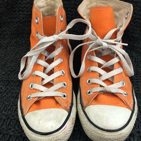 95a481332d0c Converse Shoes - Orange Converse All-Stars